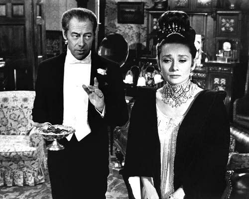 Audrey Hepburn And Rex Harrison In My Fair Lady 11x14 Hd Aluminum Wall Art At Amazon S Entertainment Collectibles Store