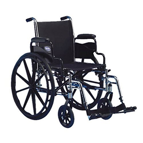Wheelchair Lightweight Manual (Invacare Tracer Sx5 w/Swingaway Footrest Size 18 x 16 - Medium)