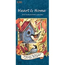 "Lang Vertical Wall Calendar ""Heart & Home"" Artwork by Susan Winget-12 Month, Open Size 7.75"" x 15.5"""