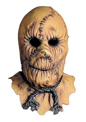 [Scary-Masks Scarecrow Mask Halloween Costume - Most Adults] (Scary Scarecrow Halloween Costumes)
