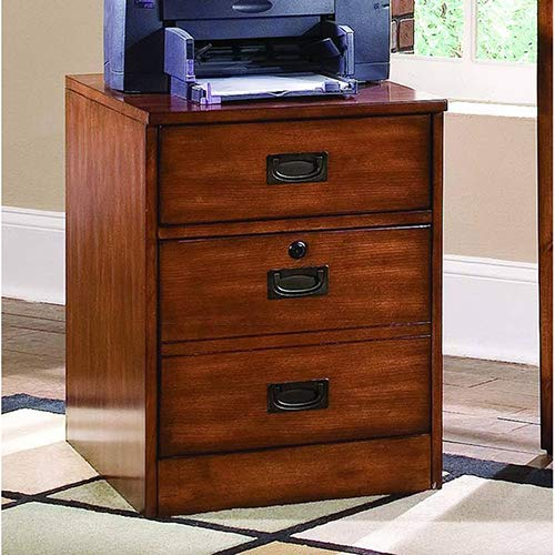 Hooker Furniture Danforth Mobile File in Rich Medium Brown by Hooker Furniture