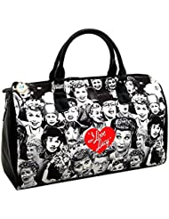 I love Lucy Collage Large Duffel Bag, Travel Bag