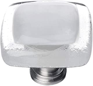 product image for Sietto K-710-PC Reflective 1-1/4 Inch Square Cabinet Knob