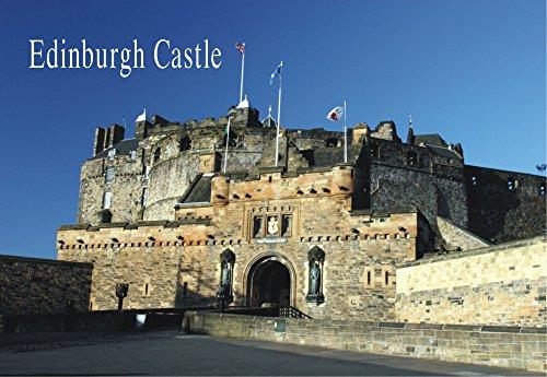 Edinburgh Castle, Museum of Scotland, Castle Rock, Souvenir Magnet 2 x 3 Fridge Magnet (Scotland Fridge Magnet)