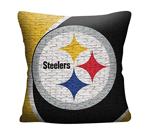 The Northwest Company Officially Licensed NFL Pittsburgh Steelers Portal Jacquard Pillow, 20""