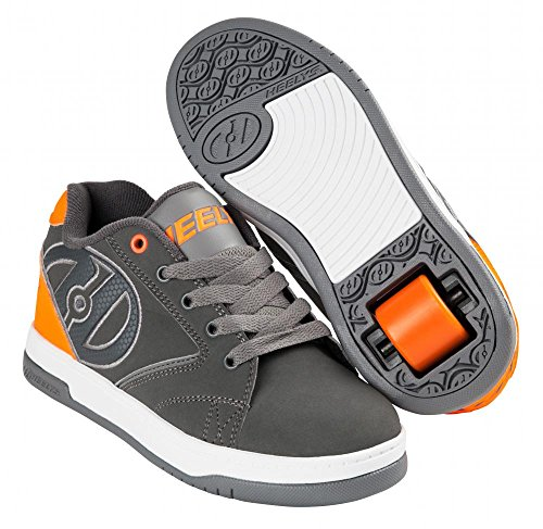 HEELYS PROPEL 2.0 Schuh 2018 charcoal/orange/grey Charcoal/Orange/Grey
