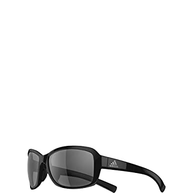 a5d3cc5d9207 Amazon.com: adidas Baboa Rectangular Sunglasses Black Shiny 58 mm ...