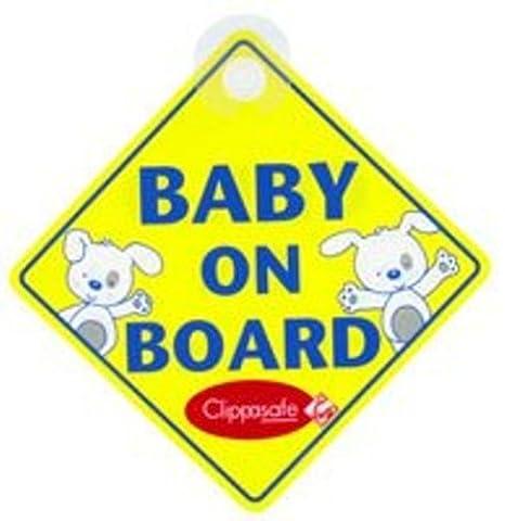 Clippasafe bebé y niño a bordo señal: Amazon.es: Bebé