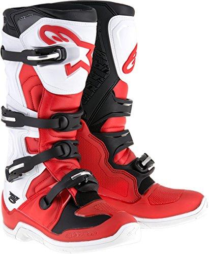 Alpinestars Tech 5 Boots-Red/White/Black-11