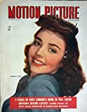 MOTION PICTURE July 1944 with Jennifer Jones cover. INSIDE: full page ad GOING MY WAY with Bing Crosby, candid Eleanor Powell, Dorothy Lamour LUX soap ad.