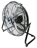 Appliances : MaxxAir HVFF14UPS 14-Inch High Velocity 3-Speed Floor Fan