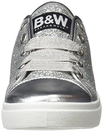 0040 amp;Walk Break Break Hv212874 amp;Walk Silver Femme Chaussures Argenté vwq7S1