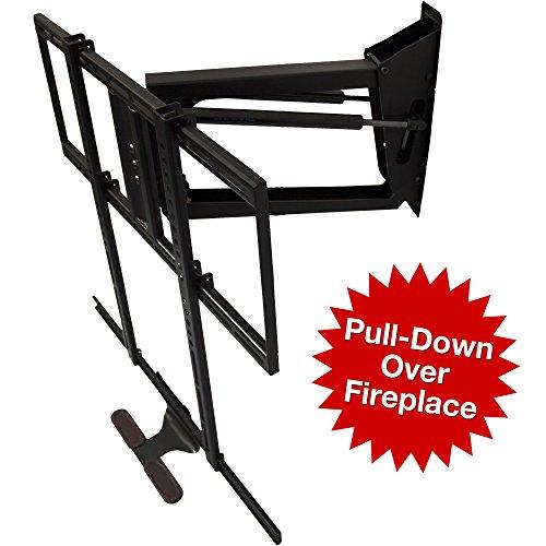 MantelMount® Pull-Down TV MountTM Bracket w/ Full Motion for 48-80