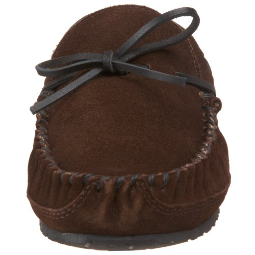 Mokassin Brown Gefütterter Schokolade Casey Minnetonka aw64YxqU4