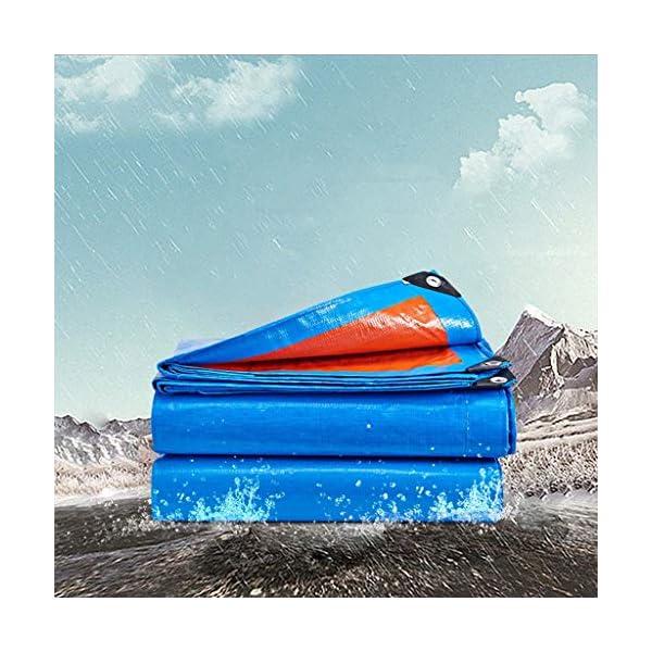 Telo di copertura antipioggia per esterni, multiuso, copertura per tenda, telo impermeabile, tenda da campeggio… 4 spesavip