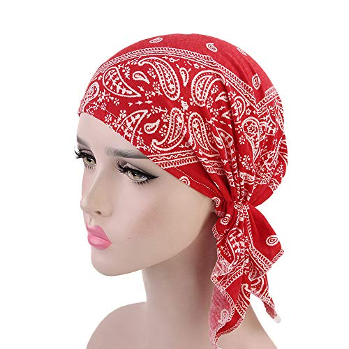 Durag for Women Satin Waves Bonnet Cap Silky Long Tail Headwrap Headwear Afterso (Gown Patient Tie)