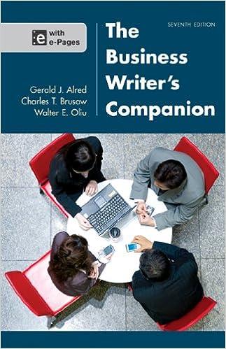business writer's handbook 11th edition pdf