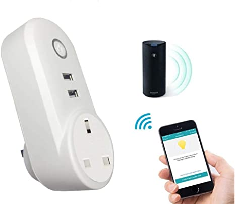 ZUEN WiFi Smart Outlet, Temporizador De Control Remoto Inalámbrico ...