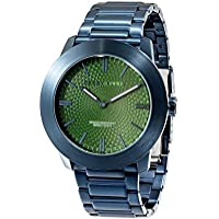 [Patrocinado] Perry Ellis Slim Line Men 46mm Quartz Stainless Steel Watch 03012-02