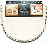 Cheap The Original™ Pet Bowl Mat – 12.5 in. x 21.5 in. (Taupe)