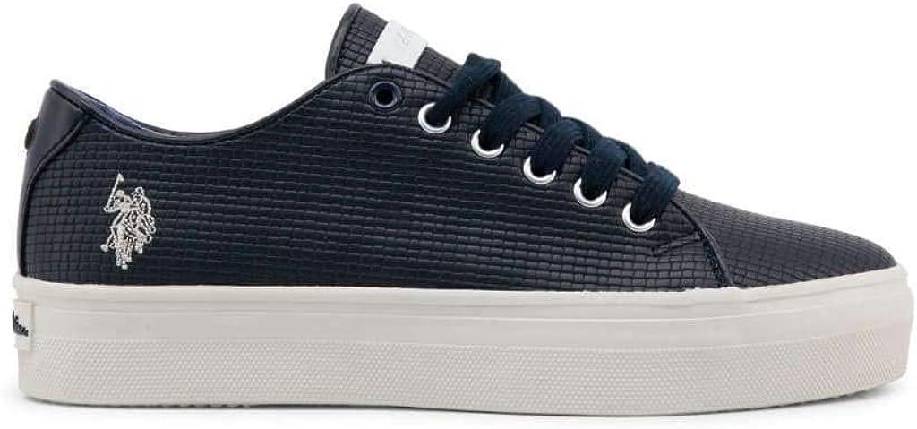 Sneakers Allacciate Blu
