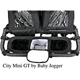 Double Stroller Organizer for Bob Duallie and Baby Jogger...