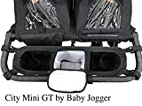 Double Stroller Organizer for Bob Duallie and Baby Jogger City Mini GT For Sale
