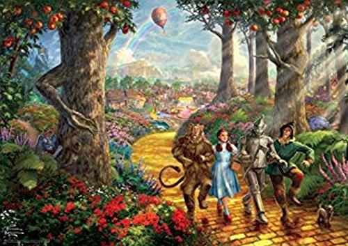 Thomas Kinkade Follow The Yellow Brick Road Puzzle - 1000 Pieces