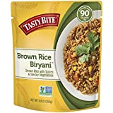 Tasty Bite Brown Rice Biryani 8.8 Ounce (Pack of 6), Whole Grain Brown Rice with Spices Potatoes & Savory Vegetables, Gluten Free, Vegetarian, Ready to Eat, Microwaveable