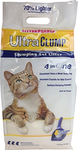 - Litter Pearls ULTRA CLUMP Cat Litter, 8 lbs.