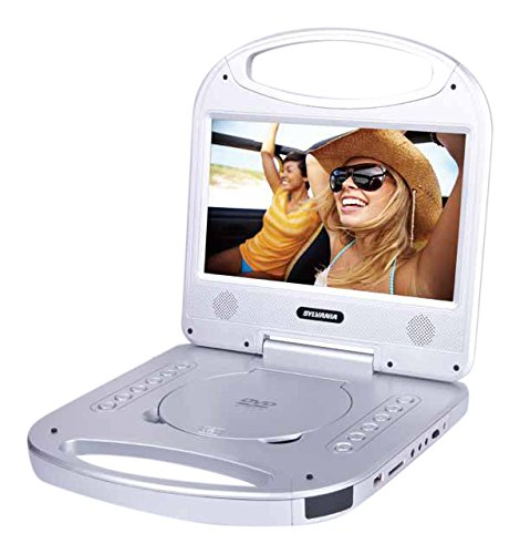 Sylvania 10 Inch Portable Player Integrated