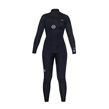 DEEPLY Traje DE Surf Mujer Pure 4/3 Chest Zip: Amazon.es: Deportes y aire libre
