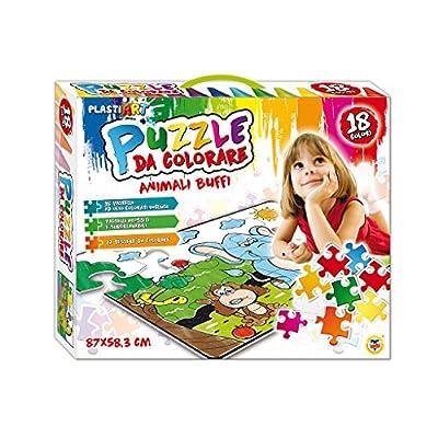 Teorema Puzzle Da Colorare Con 18 Pastelli Ad Olio Dal Tema