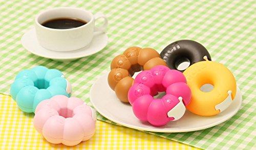 3M Scotch Donut Tape Dispenser - Caramel Brown - 12 mm X 11.4 m Photo #4