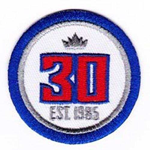 Sacramento Kings 30th Team Anniversary Season Logo Jersey Patch - Logo Anniversary Patch 30th