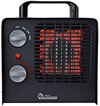 Dr Infrared Heater Dr. Heater DR-838 Family Red Ceramic Space Heater with Adjustable Thermostat