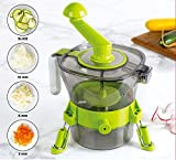 Vertical Spiralizer Vegetable Slicer Zoodle Maker - with 2 Built In...