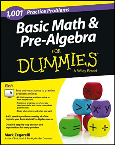 Basic Math and Pre-Algebra: 1, 001 Practice Problems For ...