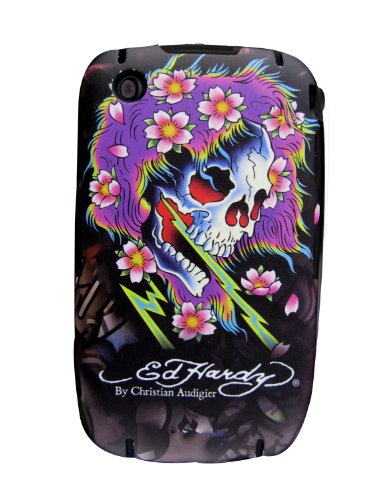 Ed Hardy BlackBerry 8520 Snap-On - Ghost