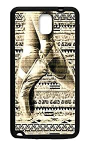 Hoomin Retro Ballet Aztec Design Dancing Samsung Galaxy Note3 Cell Phone Cases Cover Popular Gifts(Laster Technology) Kimberly Kurzendoerfer