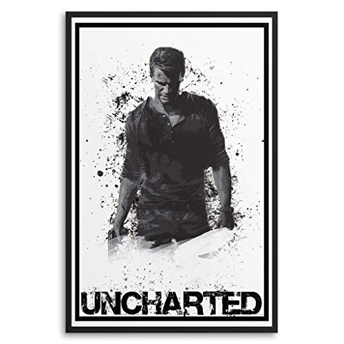 Nathan Drake Poster; Multiple Sizes
