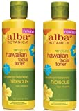 Alba OrganicsTM Hawaiian Facial Toner Hibiscus, 8.5 fl oz (Pack of 2)