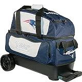 KR Strikeforce New England Patriots Double Roller Bowling Bag, Multicolor