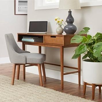 Better Homes And Gardens Flynn Desk, Pecan
