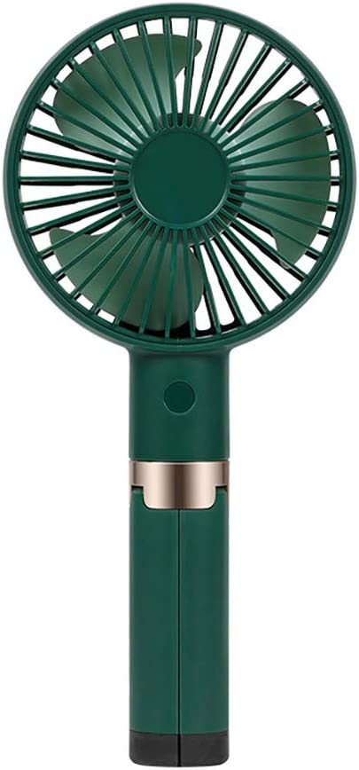 Rechargeable USB Fan Air Cooler Mini Operated Hand Held Protable No Battery VG