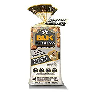 Amazon.com : Ojai Natural Foods - BUK Gluten Free Bread (2 ...