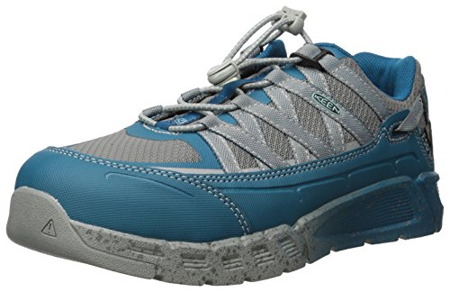 KEEN Utility Women's Asheville at ESD Industrial and Construction Shoe, Ink Blue/Eggshell Blue, 7.5 W US by KEEN Utility