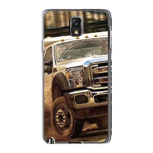 Best Hard Cell-phone Case For Samsung Galaxy Note 3 With Custom Attractive Ford Truck Pattern JohnPrimeauMaurice