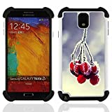 - Plant Nature Forrest Flower 84/ 3in1 Deluxe Printed Hard Soft High Impact Hybrid Armor Defender Case - SHIMIN CAO - For Samsung Galaxy Note3 N9000 N9008V N9009