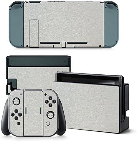 FriendlyTomato Nintendo Switch Consola y controlador Skin Set – Color blanco: Amazon.es: Videojuegos